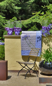 Stuhl im Garten Roseanum